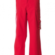 Pantalone professionale rosso Tanger