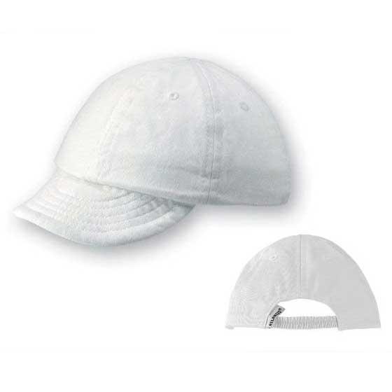 Infant baseball cappellino bianco con visiera per for Cappellino con visiera