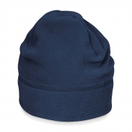 Cuffia blu navy da personalizzare, 100% Poli.anti-pilling Suprafleece Summit Hat