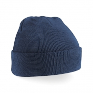 Cappello bambino blu navy da personalizzare Acrylic Knitted Hat Junior