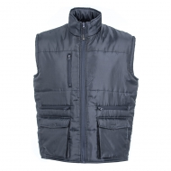 Gilet work unisex da personalizzare in nylon lucido impermeabile Coventry Blu Navy