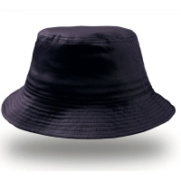 Cappello blu navy da personalizzare, 100% cotone Bucket Cotton