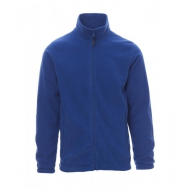 Pile uomo blu royal full zip da personalizzare Nepal