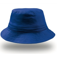 Cappello blu royal da personalizzare, 100% cotone Bucket Cotton