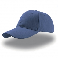 Cappello blu royal da personalizzare, 100% cotone twill Liberty Six