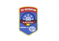 Patch ricamata sport - Ski instructor