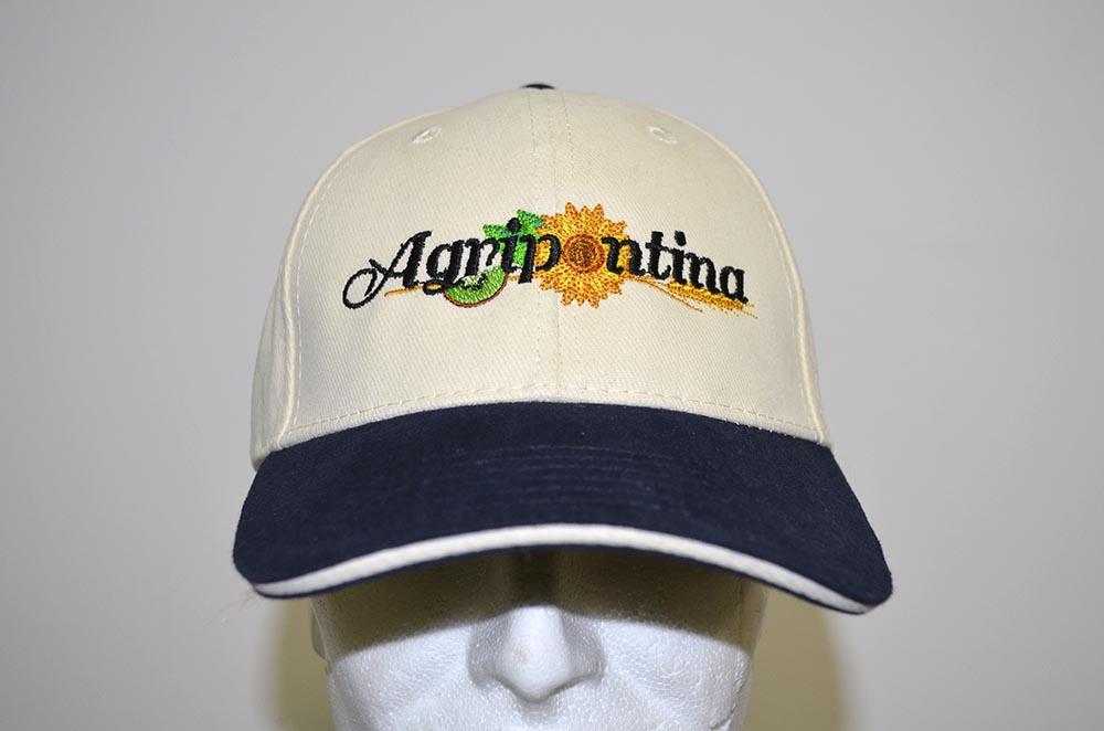 Cappellino personalizzato con logo ricamato Agripontina c5fcb871ab0b