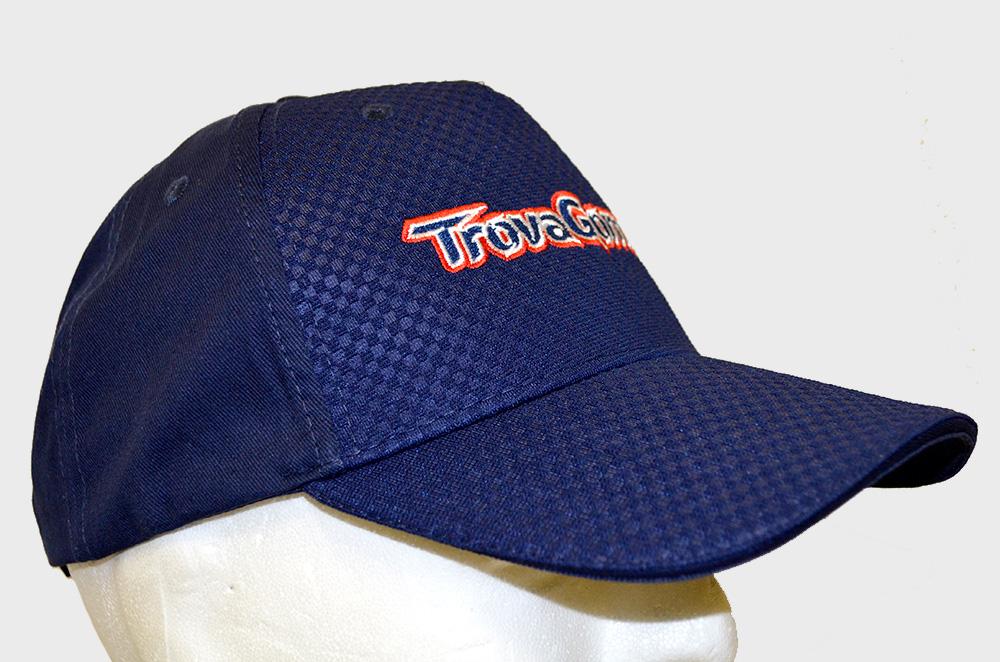 Cappellino personalizzato con logo ricamato Trovagomme - Laterale DX 17a5d025e8dd